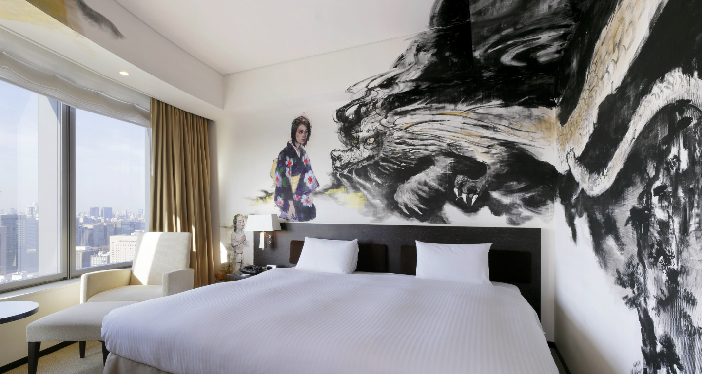 Rooms for Art hotel design