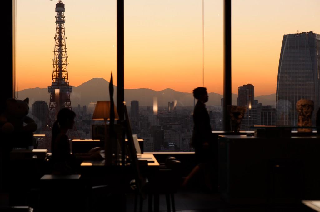 Reception at Park Hotel Tokyo